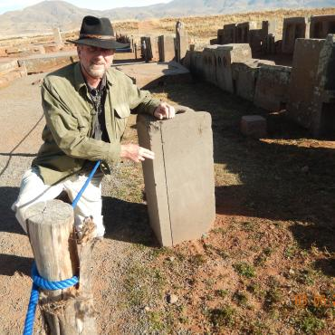 Considering five lithic artifacts at Tiahuanaco and Puma Punku, Bolivia